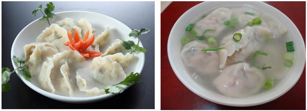 食堂水饺,饭堂水饺,餐厅水饺,水饺面